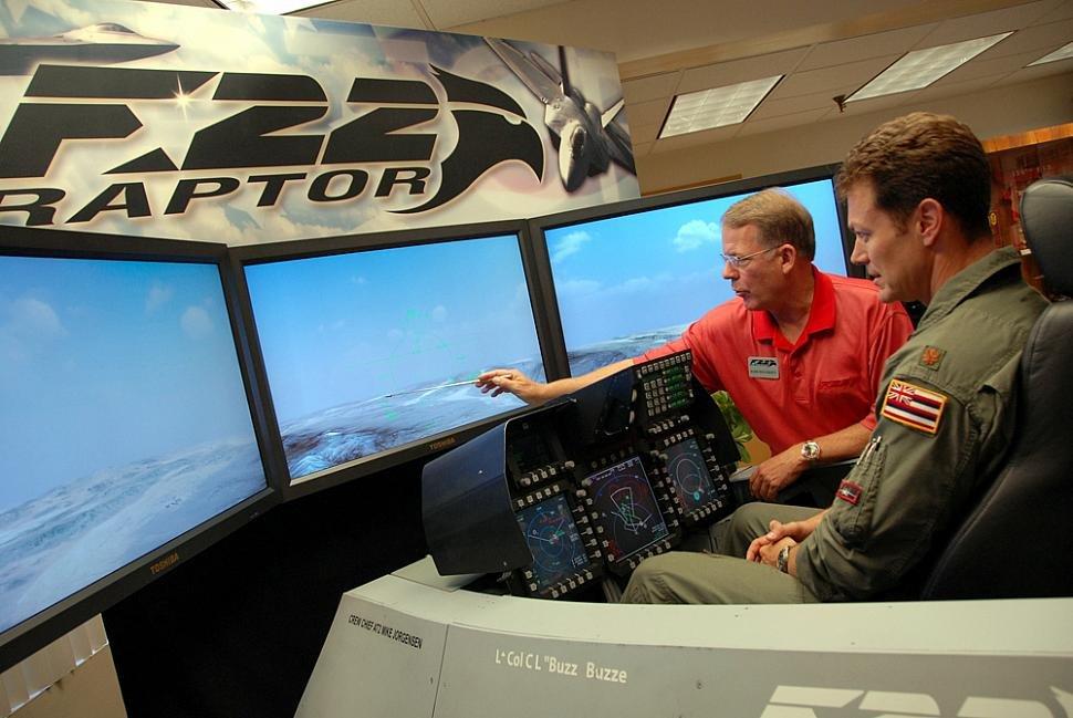 F-22 training